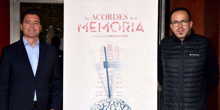"""Josefina Arregui Klinika da """"Los Acordes de la Memoria"""" zinema-dokumentalaren protagonista."""